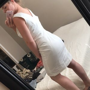 White Limited dress